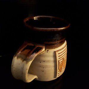Hand Thrown Barrel Shaped Mug